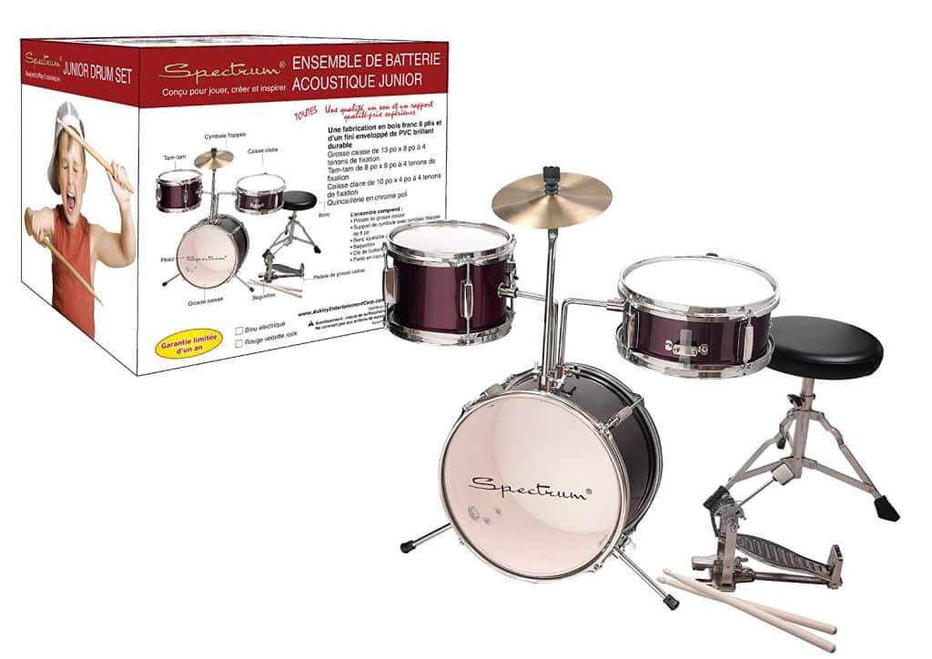 Spectrum AIL 621R 3-Piece Junior Drum Set Review