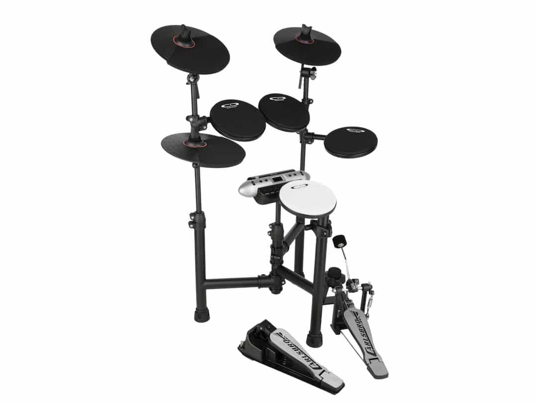 Carlsbro-CSD130-Electronic-drum-kit-left-side