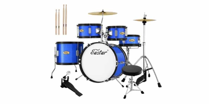 Eastar 16 inch 5-piece Junior Drum Set Review