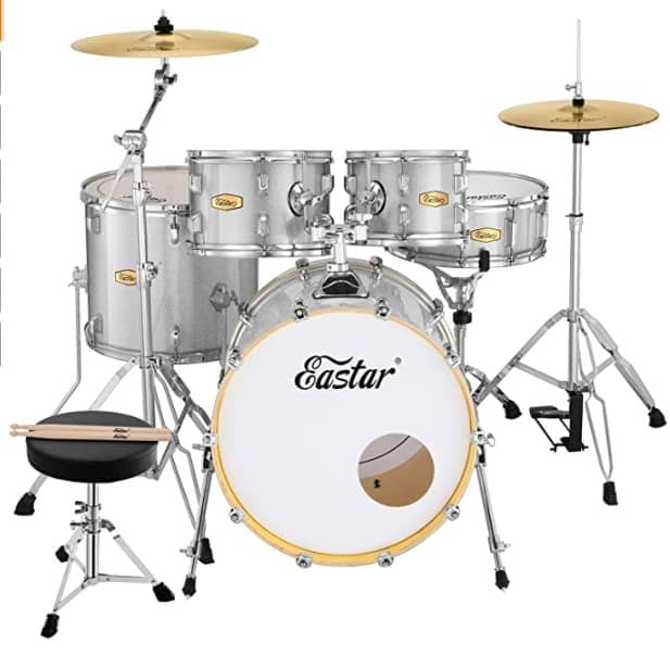 Eastar 20 Inch Drum Set