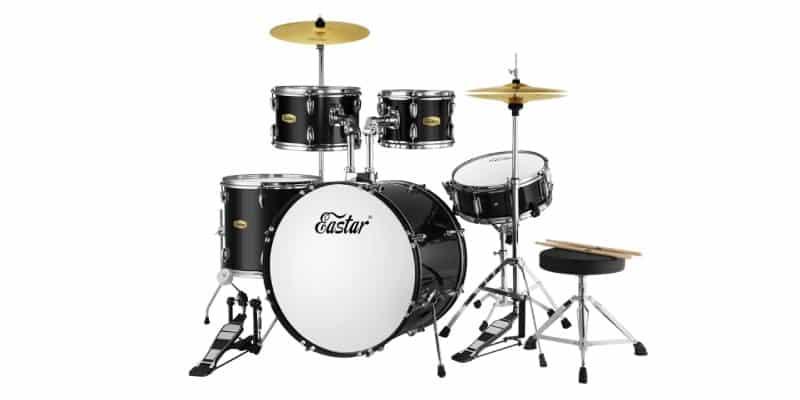Eastar 5-Piece Drum Set