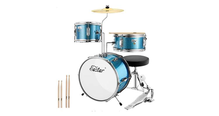 eastar-14-inch-kids-drum-set